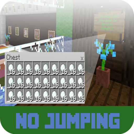 Map No Jumping For MCPE