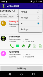 Pay Me Back (Business Debt) screenshot 2