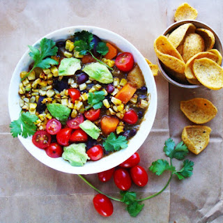 Hidden Rainbow Vegan Chili