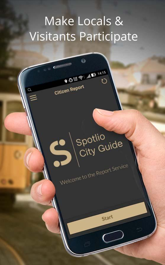 Spotlio City Guide- screenshot