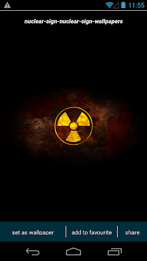 Nuclear Sign Wallpapers