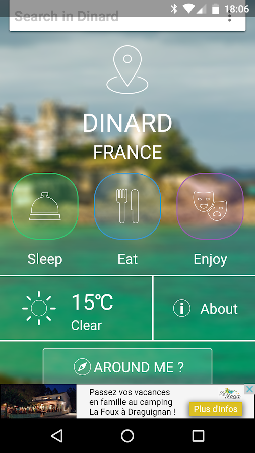 Dinard City Guide- screenshot