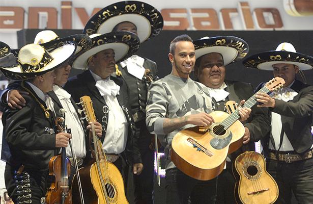 lewis hamilton mariachi