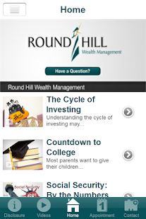 Round Hill Wealth- screenshot thumbnail