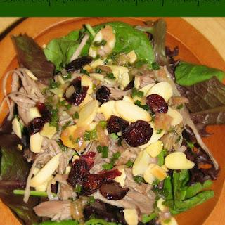 Duck Confit Salad wit Raspberry Vinaigrette