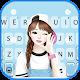 Lovely Sweet Girl Keyboard Theme Download on Windows