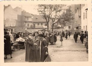 Photo: Market in Milec 10-2-40