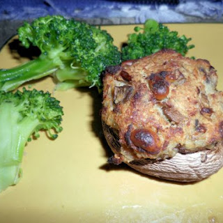 Stuffed Mushroom with Crab Meat