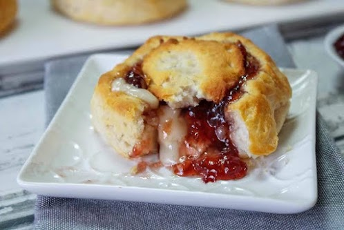Click Here for Recipe: Brie Brunch Biscuits (Two Ways)