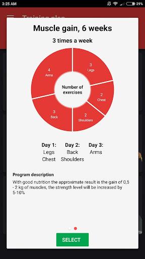 SmartFit - Gym Personal Trainer, Strength training  screenshots 10