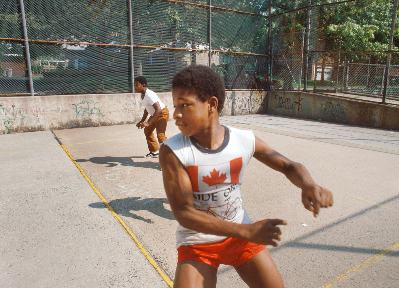 Paul Hosefros basketballl kid
