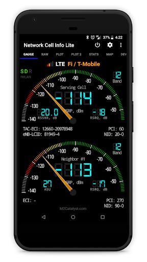 Network Cell Info Lite screenshot 1