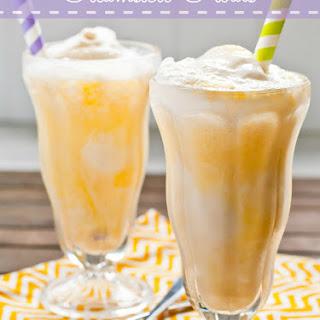 3 Ingredient Creamsicle Ice Cream Floats