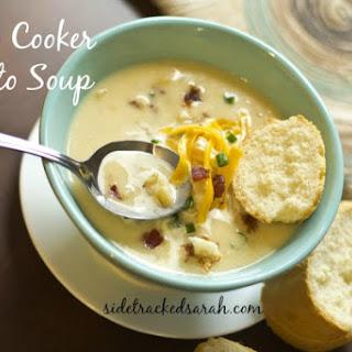 Slow Cooker Potato Soup.