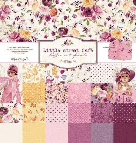 Maj design 12X12 Collection Pack - Little Street Café