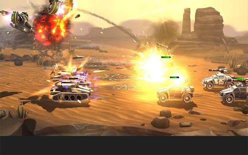 League of War: Mercenaries Screenshot