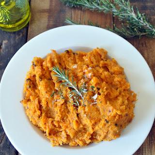 Rosemary Sweet Mashed Potatoes.