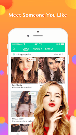 Famy - Voice chat room & Voice call and Video call 2.1.1 screenshots 1