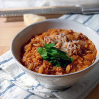 Manestra (simple Greek orzo comfort food)