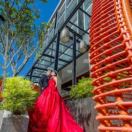 The Day by Gideon Sooai - Wedding Bride & Groom
