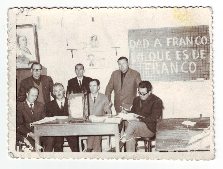 Referéndum sobre la Ley Orgánica de Estado en 1966 (Foto: Colección Museos de Terque).