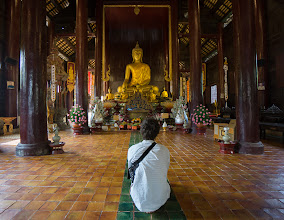 Photo: 4. Wat Phan Tao, a small temple with an exquisite wood interior. Sony 10-18mm lens.