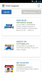 Print Coupons- screenshot thumbnail