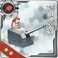 120mm連装砲