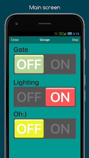 RemoteXY: Arduino control screenshot 5