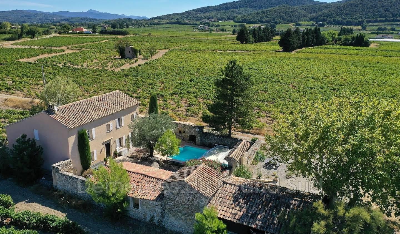 Villa avec piscine Séguret