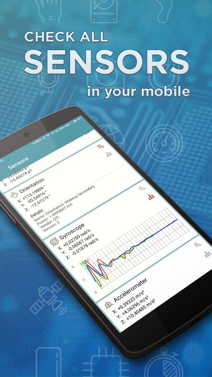 Sensors Toolbox Screenshot