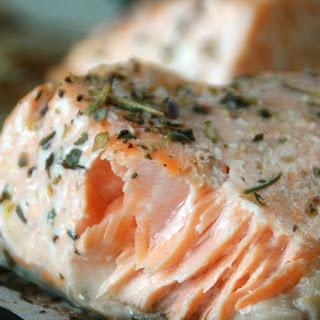 Lavender-Lemon Roasted Salmon