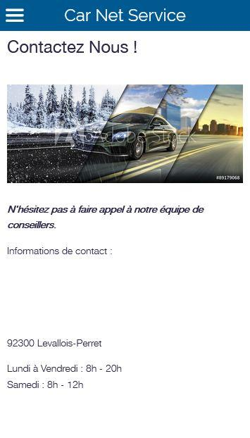 Car Net Service – Capture d'écran