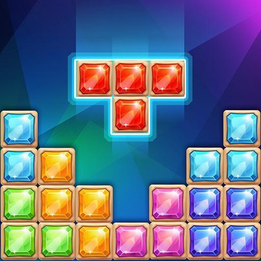 Jewel block puzzle - Classic free puzzle Icon