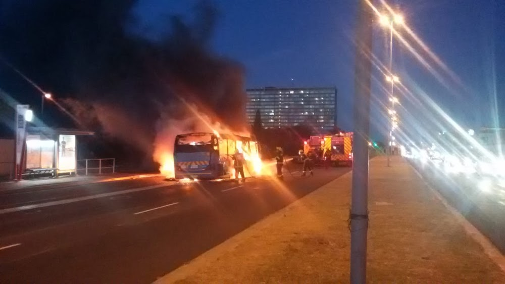 Driver and passenger burnt as MyCiti bus is petrol bombed in Cape Town