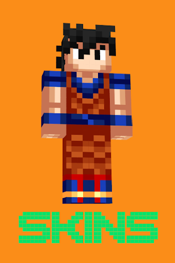 GOKU Skins For MCPE APK On PCMac AppKiwi Apk Downloader - Skin para minecraft pe de dragon ball z