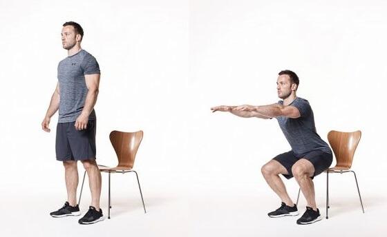 Động tác squat giúp đùi thon gọn đáng kể