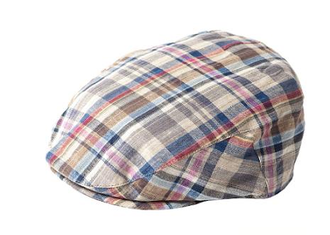 Summer Check Cap, blå