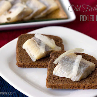 Old Fashioned Pickled Herring.