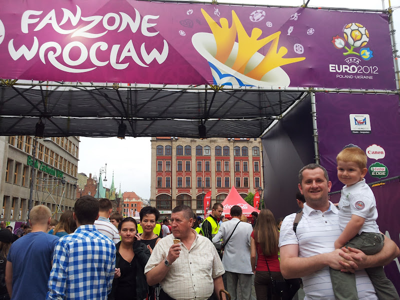 Photo: Welcome to Wroclaw FanZone!
