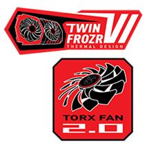 """TWIN FROZR VI: thiết kế tản nhiệt ấn tượng với chất liệu """"Bi thép"""""""