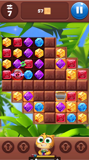 Gemmy Lands: New Jewels and Gems Match 3 Games modavailable screenshots 6