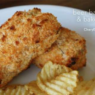 Beer-Battered Baked Cod