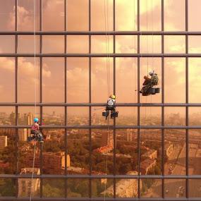 Real Hero by Irvan Junizar - People Professional People ( work, aerial, people, building, photography )