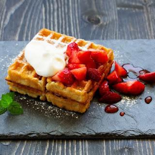 Overnight Belgian Waffles