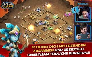 Screenshot of Castle Clash: Ära der Legenden