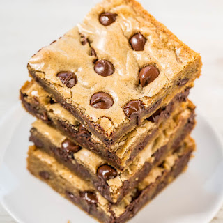 Browned Butter Chocolate Chip Blondies.