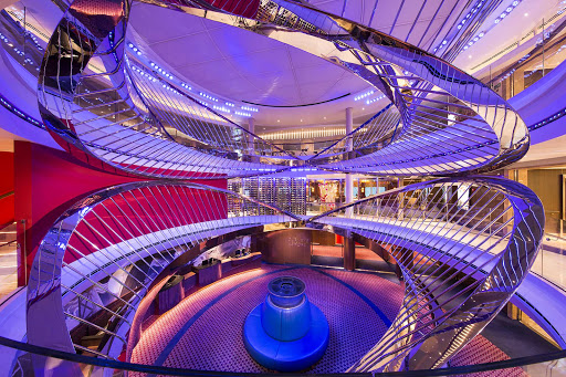 koningsdam-atrium.jpg - The stylish, contemporary atrium on Holland America's Koningsdam.