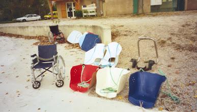 Photo: Le matériel d'aide à l'embarquement