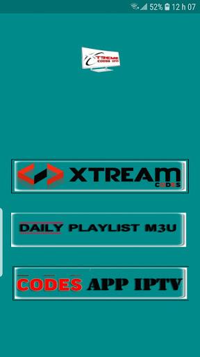 Xtream codes m3u